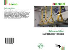 Bookcover of Ballerup station