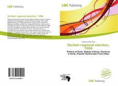 Sicilian regional election, 1996 kitap kapağı
