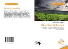 Capa do livro de Ethiopian Highlands