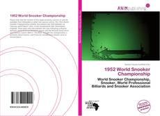 Copertina di 1952 World Snooker Championship