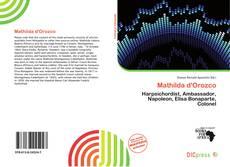 Buchcover von Mathilda d'Orozco