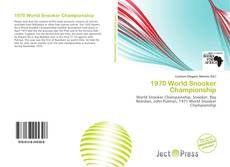 Bookcover of 1970 World Snooker Championship