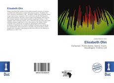 Bookcover of Elisabeth Olin