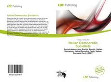 Bookcover of Italian Democratic Socialists