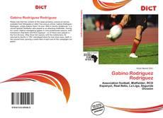 Buchcover von Gabino Rodríguez Rodríguez