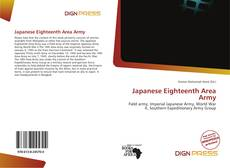 Capa do livro de Japanese Eighteenth Area Army
