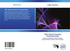 Bookcover of 1981 World Snooker Championship