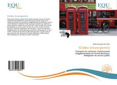 Bookcover of Ginko (transports)