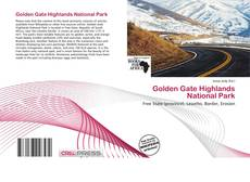 Bookcover of Golden Gate Highlands National Park