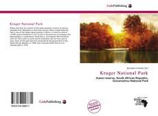 Couverture de Kruger National Park