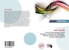 Bookcover of Jack Goody