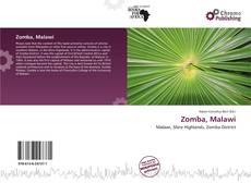 Copertina di Zomba, Malawi