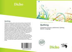 Bookcover of Quthing