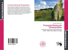 Couverture de François Harlay de Champvallon