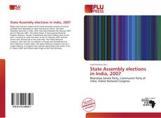 Couverture de State Assembly elections in India, 2007