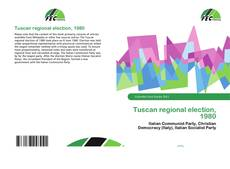 Couverture de Tuscan regional election, 1980