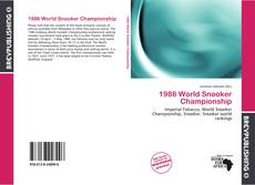 Bookcover of 1986 World Snooker Championship