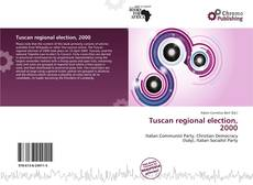 Copertina di Tuscan regional election, 2000