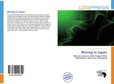 Bookcover of Mining in Japan