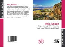 Bookcover of Hayq, Ethiopia