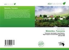 Bookcover of Malambo, Tanzania