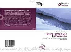 Bookcover of Historic Formula One Championship