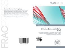 Portada del libro de Christian Democratic Party (Italy)