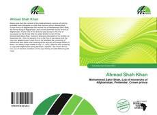 Copertina di Ahmad Shah Khan