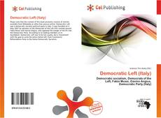 Bookcover of Democratic Left (Italy)