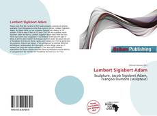 Couverture de Lambert Sigisbert Adam