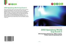 Couverture de 2002 Speedway World Cup Event 3