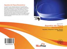 Bookcover of Aqueduc de l'Aqua Alexandrina