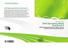 Buchcover von 2004 Speedway World Cup Event 2
