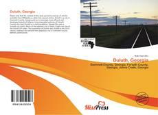 Capa do livro de Duluth, Georgia