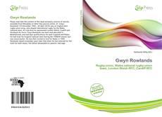 Обложка Gwyn Rowlands