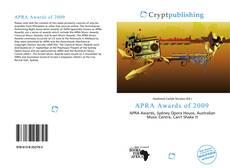 APRA Awards of 2009 kitap kapağı