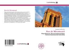 Bookcover of Rue de Miromesnil