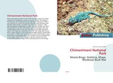 Bookcover of Chimanimani National Park