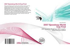 Bookcover of 2007 Speedway World Cup Final