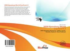 Buchcover von 2008 Speedway World Cup Event 2