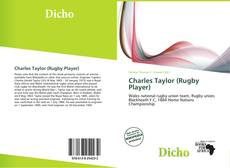 Capa do livro de Charles Taylor (Rugby Player)
