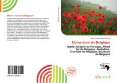 Capa do livro de Marie-José de Belgique