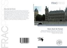 Portada del libro de Hans Axel de Fersen