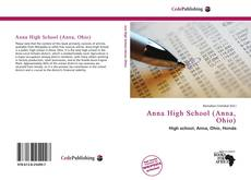 Portada del libro de Anna High School (Anna, Ohio)