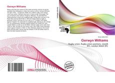 Bookcover of Gerwyn Williams