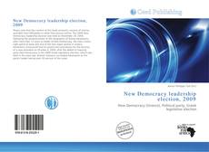 Bookcover of New Democracy leadership election, 2009