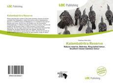 Bookcover of Kalambatritra Reserve