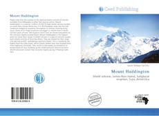Bookcover of Mount Haddington