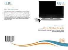 2011 ASTRA Awards kitap kapağı