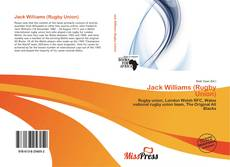 Jack Williams (Rugby Union) kitap kapağı